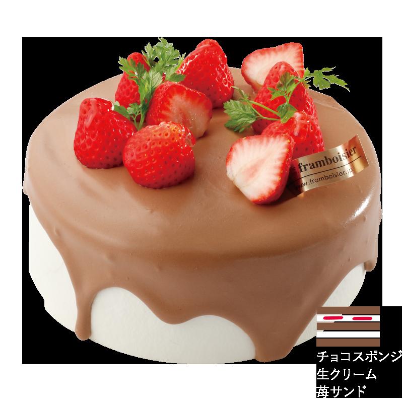 いちごの生チョコレート
